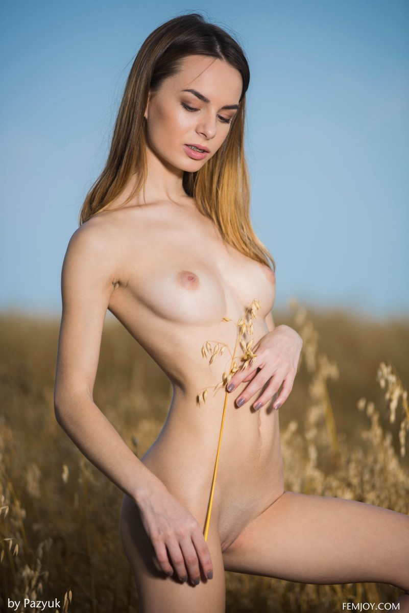 Denisa G Nude Outdoors-6409