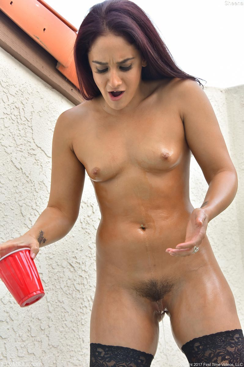 Hot milf with dildo sorry