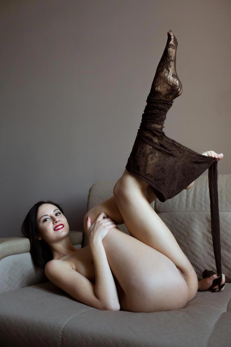 Sade Mare In Sexy Pantyhose-7142