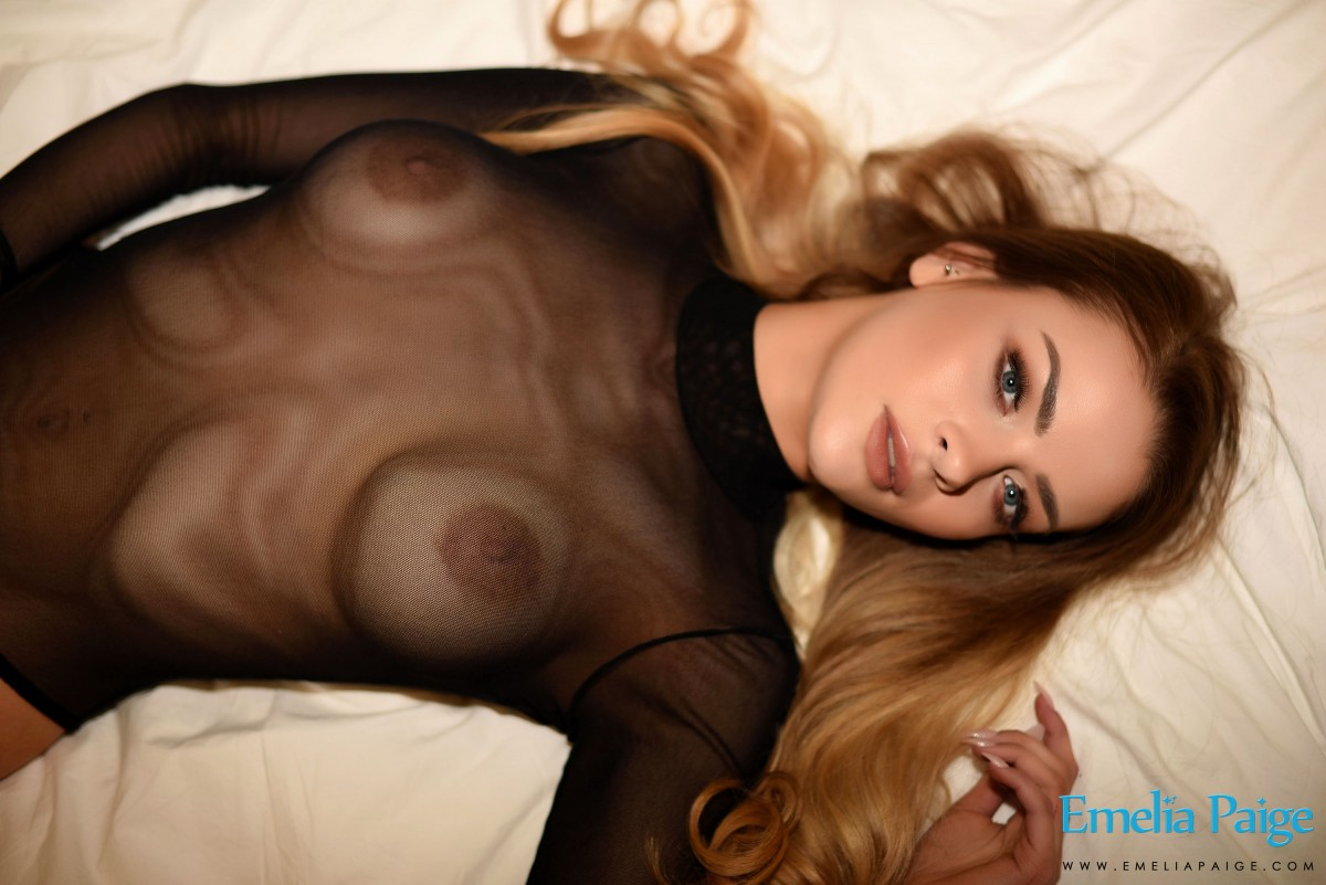 erocurves emelia paige in a sheer bodysuit