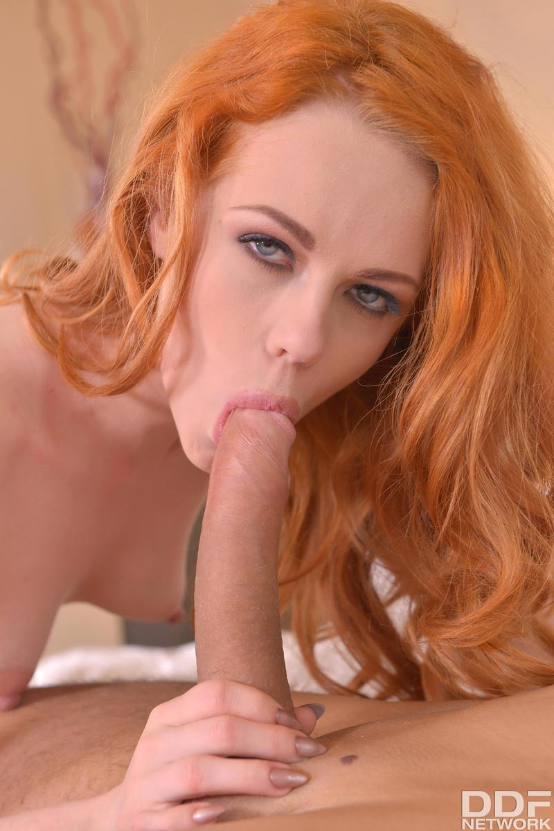 Sexy redhead rides her dildo ii 5