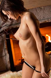 lacey-lynn-fireplace-striptease