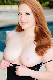 lucy-ohara-poolside-striptease