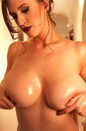 lana-kendrick-oiled-tits