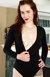 alice-whyte-in-a-sexy-black-onepiece