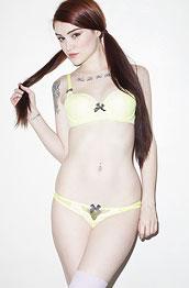ari-dee-in-yellow-lingerie