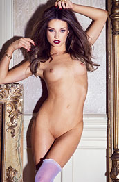 brittany-brousseau-in-purple-stockings