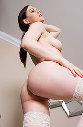 tina-kay-spreads-in-her-white-stockings