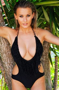 stunning-jesse-jay-in-a-black-swimsuit