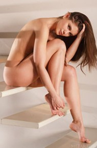 little-caprice-strips-naked-on-stairs