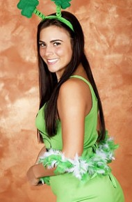 kaley-kade-in-a-cute-green-outfit