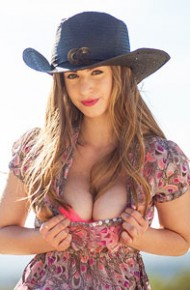 stella-cox-busty-cowgirl-milking-her-tits