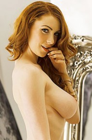 Alice Brookes Strips off her Lingerie