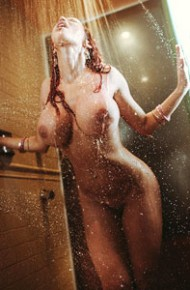 Bianca Beauchamp Shower Fun