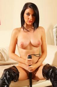 Bryoni Kate Hot Mistress Wearing PVC