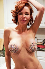 Busty Milf With Sprinkled Tits