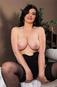 Sandra Nero In Black Stockings