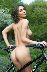 Galina A Fit Babe in the Outdoors