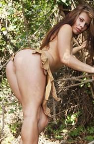 Kseniya Naked in the Wild