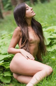 Lorena Garcia Naked and Lost in the Woods