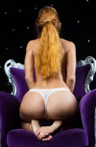 Roberta Berti in White Panties
