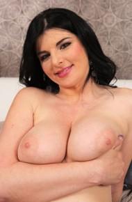 Sandra Nero Toying in Stockings