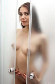 Vanessa Angel in the Shower