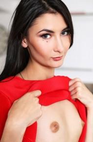 Bambi Jolie Leggy Russian Model Toying
