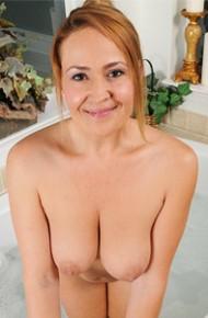 Elexis Monroe Teasing in a Bathtub