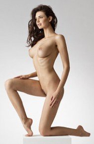 Jasmine Andreas Nude in the Studio