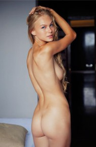 Nancy A Leggy Naked Blonde Teenie