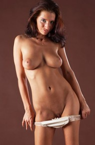 Busty Newcomer Ella Shows Hot Body