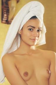Cira Nerri After Shower Tease