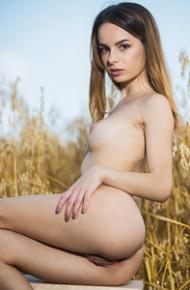 Denisa G Nude Outdoors