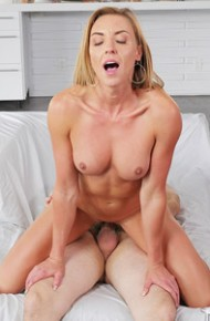 Kate Linn Horny Cougar in Action