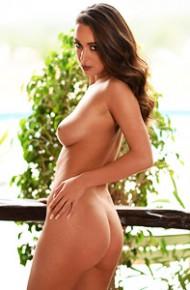 Lauren Louise Balcony Striptease