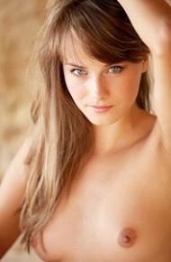 Leggy Maya Nude Outside