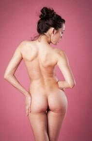 Ulia Naked in the Studio