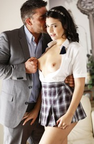 Violet Starr Fucked in a Sexy Skirt