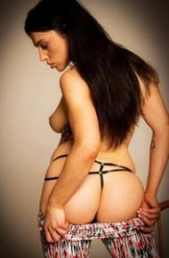 Daniella Christina in Sexy Leggings