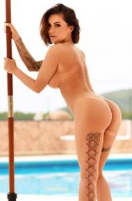 Gemma Massey Yellow Bikini