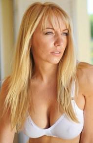 Hayley Marie Sheer White Underwear