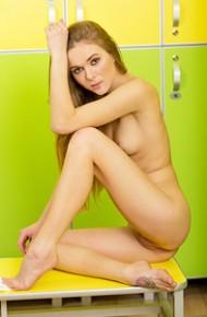 Karissa Diamond in the Locker Room
