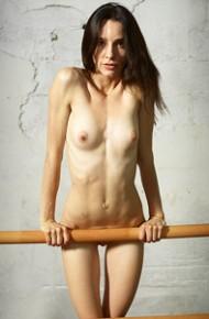 Leggy Naked Ballet Dancer