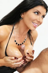 Romi Rain Oiled Milf Jizzed After Sex