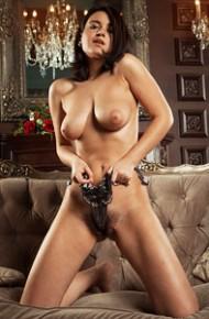 Busty Sanita Shows Hot Tits