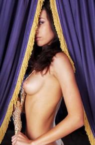Delia from MyNakedDolls posing Naked