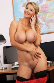 Kathy Kozy Office Striptease