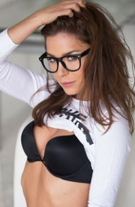 Lily Chey Wearing Glasses