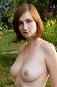 Madeline B Spreads in the Backyard